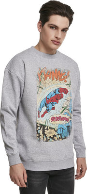 Spiderman Ftanng Crewneck Grey XL