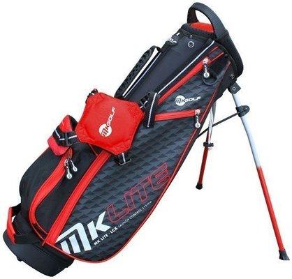 Masters Golf MK Lite Standbag Red 53in - 135cm