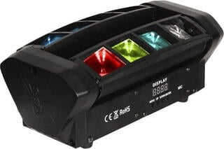 Fractal Lights Mini Partyscope 8x3 W RGBW