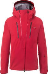 Kjus 7Sphere II Mens Ski Jacket Currant Red 52