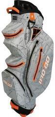 Bennington IRO QO 14 Waterproof Cart Bag Silver Flash/Orange