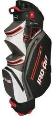 Bennington IRO QO 14 Waterproof Cart Bag Black/White/Gray/Red