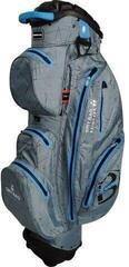 Bennington Sport QO 14 Waterproof Cart Bag Canon Grey Flash/Cobalt