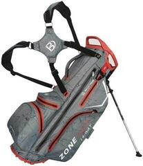 Bennington Zone 14 Waterproof Stand Bag Canon Grey Flash/Red