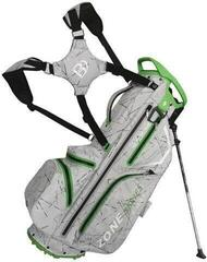 Bennington Zone 14 Waterproof Stand Bag Silver Flash/Lime