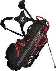Bennington Four 4 Waterproof Stand Bag Black Camo/Red