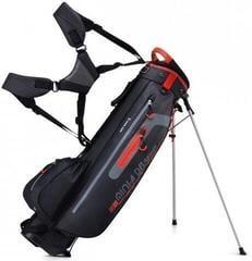 Bennington Mini Waterproof Stand Bag Black/Grey/Red