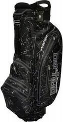 Bennington Dry 14+1 GO Waterproof Cart Bag Black Flash/Canon Grey