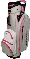 Bennington Dojo 14 Water Resistant Cart Bag Grey/White/Pink