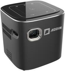 Aodin DLP Mini Cube Mini Projector