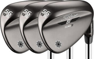 Titleist SM7 Brushed Steel Wedge Right Hand SET