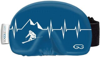 Soggle Goggle Cover Heartbeat Skier 2