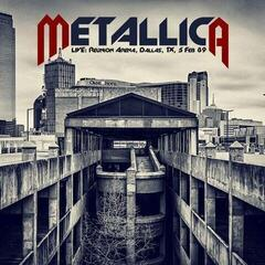 Metallica Live: Reunion Arena, Dallas, TX, 5 Feb 89 (2 LP)