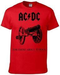 AC/DC For Those About To Rock Czerwony