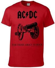 AC/DC For Those About To Rock Piros
