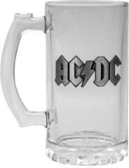 AC/DC Logo Glass Tankard