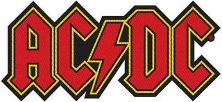 AC/DC Logo Cut-Out Sew-On Patch