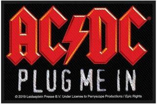 AC/DC Plug Me In Sew-On Patch