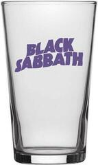 Black Sabbath Purple Logo Beer Glass