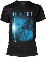 Aliens Title T-Shirt Black