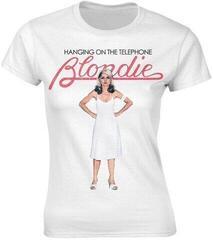 Blondie Hanging On The Telephone White Womens T-Shirt White