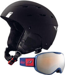 Julbo Norby Ski Helmet Black 56-58 SET