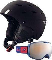Julbo Norby Ski Helmet Black 58-60 SET