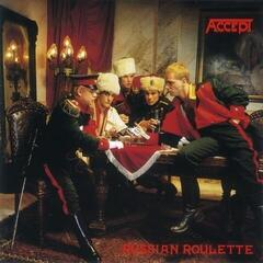 Accept Russian Roulette (Gold & Black Swirled Coloured Vinyl)