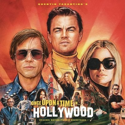 Quentin Tarantino Once Upon a Time In Hollywood OST (Gatefold Sleeve) (2 LP)