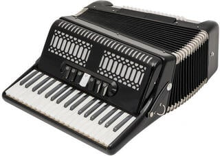 Victory 80BS Black Piano accordion