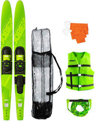 "Jobe ""Allegre 67"""" Combo Skis Lime Green Package"""