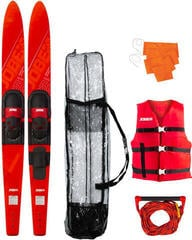 "Jobe ""Allegre 59"""" Combo Skis Red Package"""