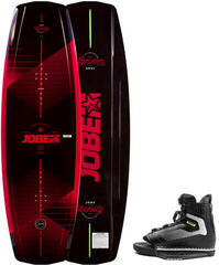 Jobe Vanity Wakeboard 136 & Maze Bindings Set Red/Black