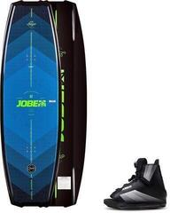 Jobe Logo Wakeboard 138 & Maze Bindings Set Blue/Black