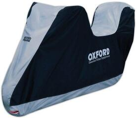 Oxford Aquatex Top Box Cover Schwarz/Silber