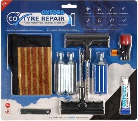 Oxford CO2 Tyre Repair Kit