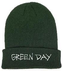 Green Day Label Flip Knitted Ski Hat