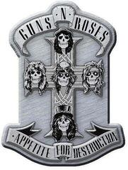 Guns N' Roses Appetite Metal Pin Badge