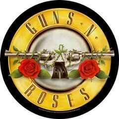 Guns N' Roses Bullet Logo Backpatch