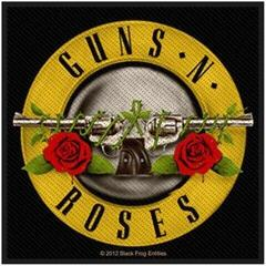 Guns N' Roses Bullet Logo (Packaged) Sew-On Patch