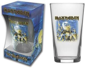 Iron Maiden Live After Death Beer Glass