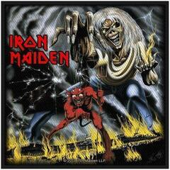 Iron Maiden Number Of The Beast (Packaged) Sew-On Patch