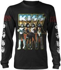 Kiss Love Gun Chrome Long Sleeve Shirt Black