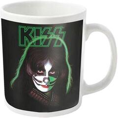Kiss Peter Criss White Mug