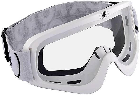 Oxford Fury Goggle - Glossy White