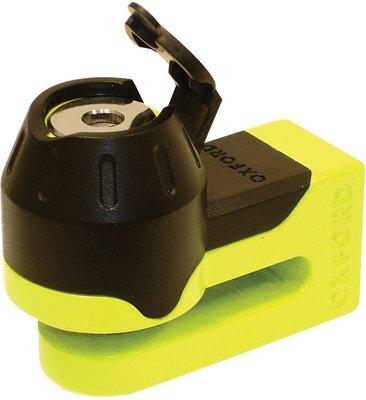 Oxford Mini T Disk Lock Yellow