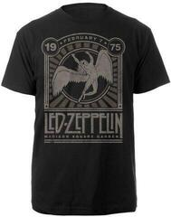 Led Zeppelin Madison Square Garden 1975 T-Shirt Black