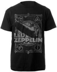 Led Zeppelin Vintage Print LZ1 T-Shirt Black