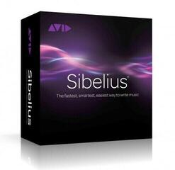 AVID Sibelius Annual Subscription with Upgrade Plan