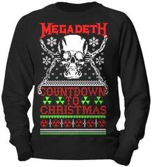 Megadeth Countdown To Christmas Crew Neck Sweater Black